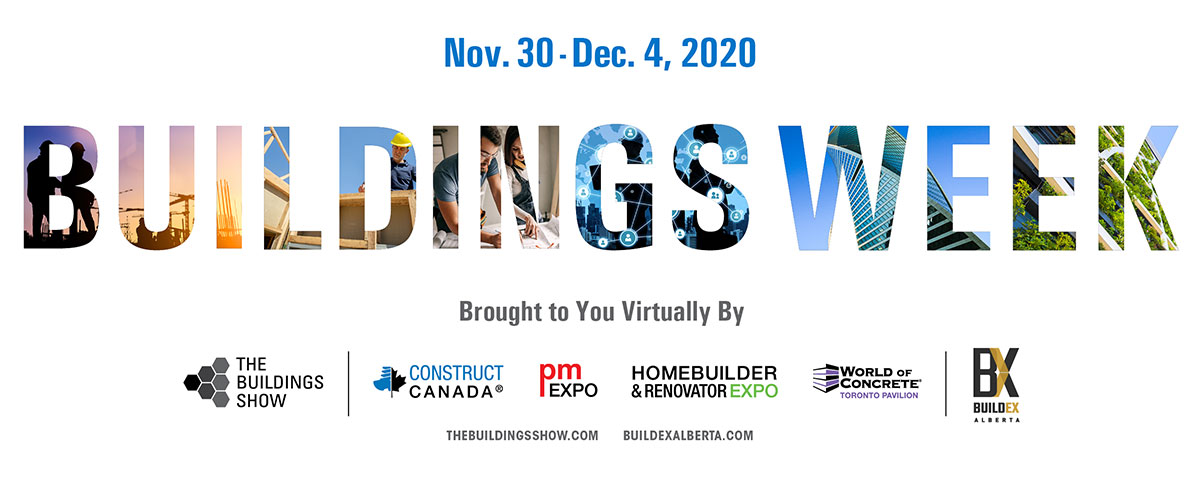 Buildings Week - Brought to You Virtually By The Buildings Show & BUILDEX Alberta
