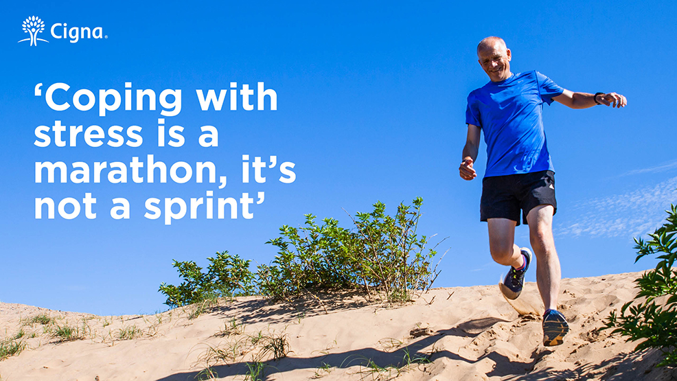 Coping with stress is a marathon, it's not a sprint