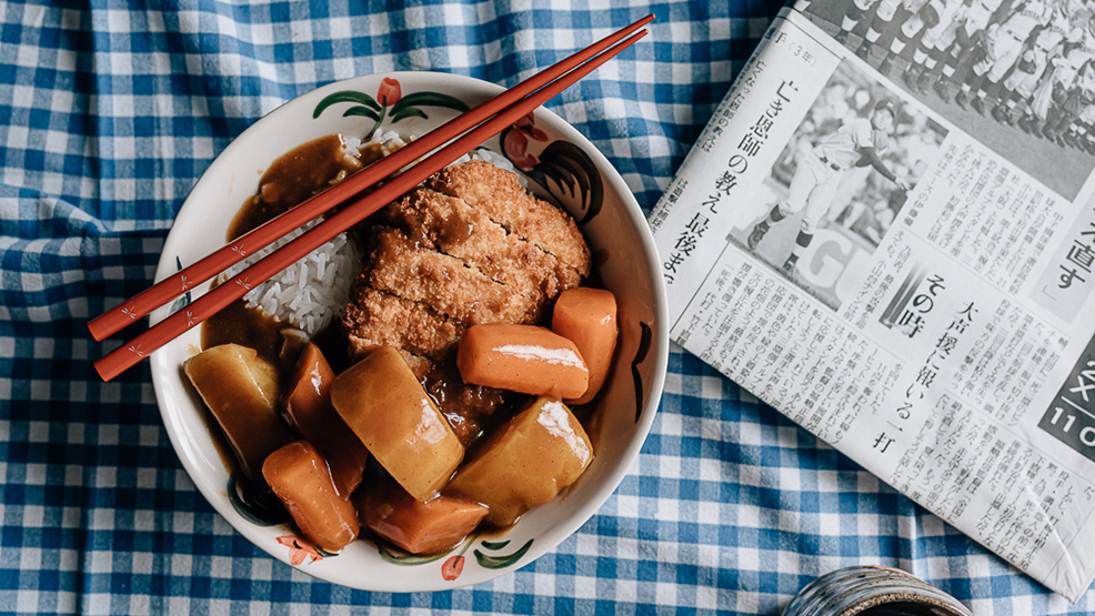 Katsu Curry in a bowl