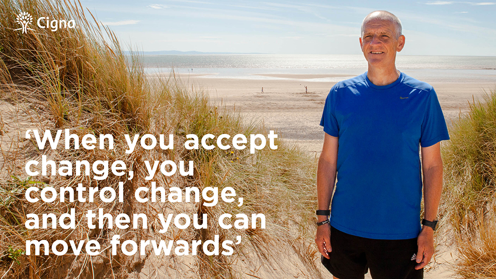 When you accept change, you control change, and then you can move forwards