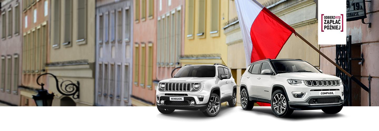 Modele Jeepa promocja