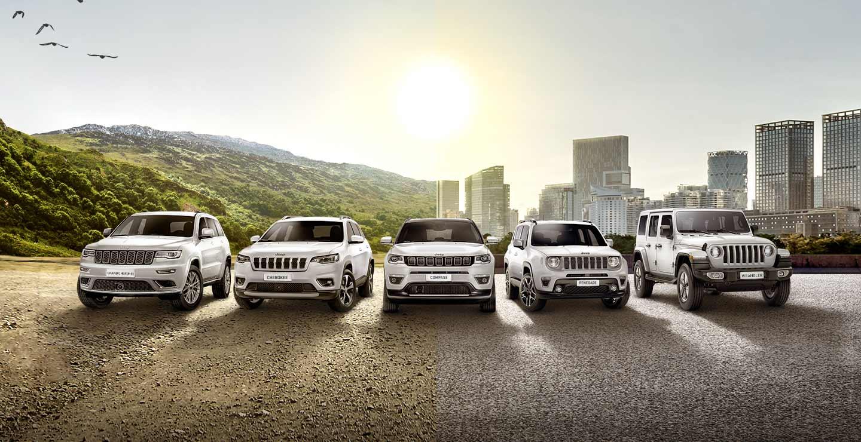 Modele Jeepa 2020