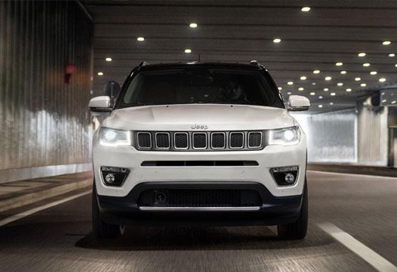 Jeep Compass car interiors