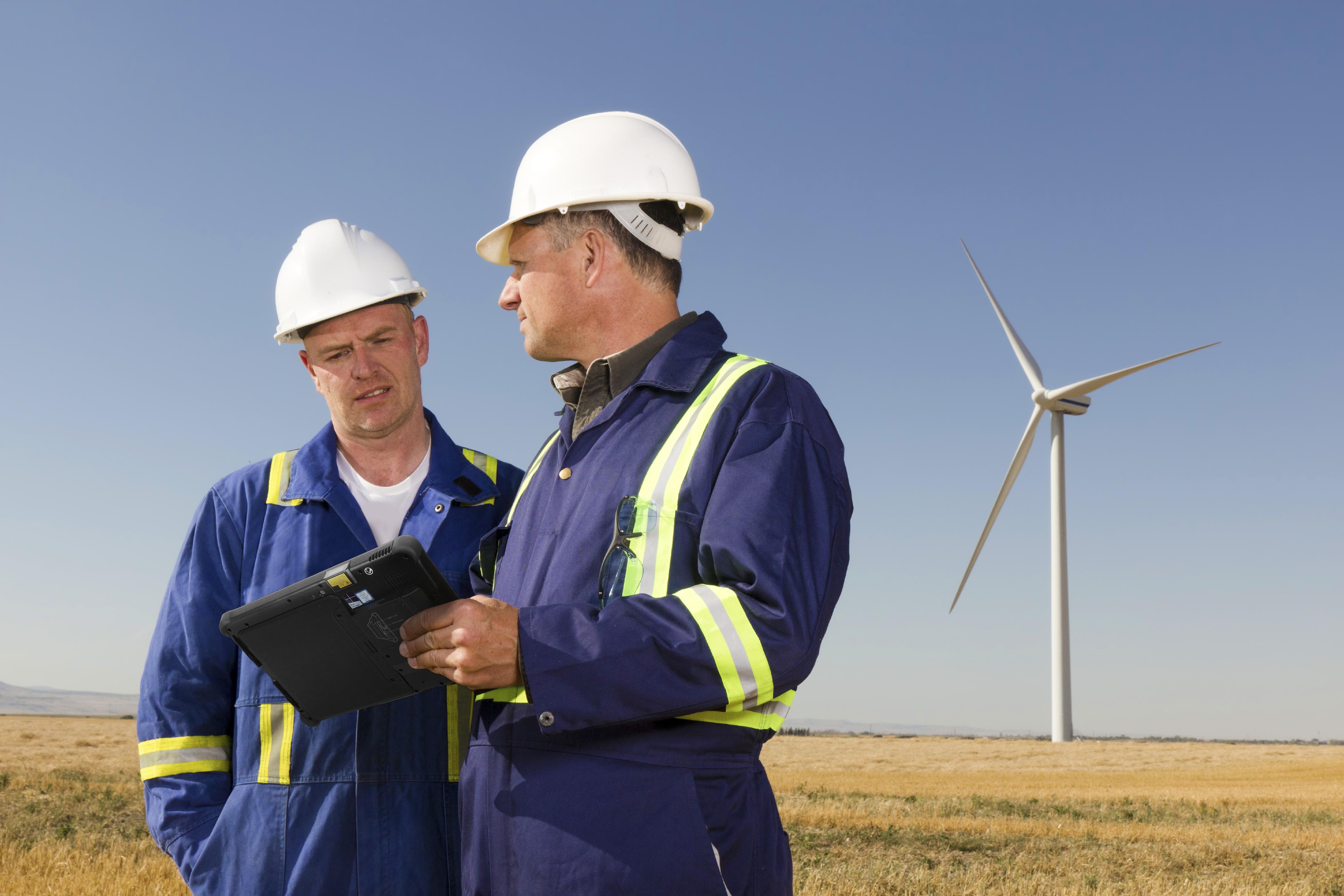 Getac F110 Utilities sector
