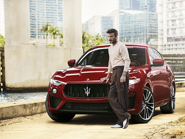 Maserati and David Beckham: Made Audacious