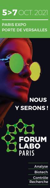 Forum labo 2021 à Paris, Ozyme présente son stand