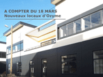 Siège et locaux de la société Ozyme