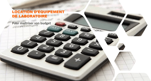 Location d'instruments de laboratoire, solution de financement