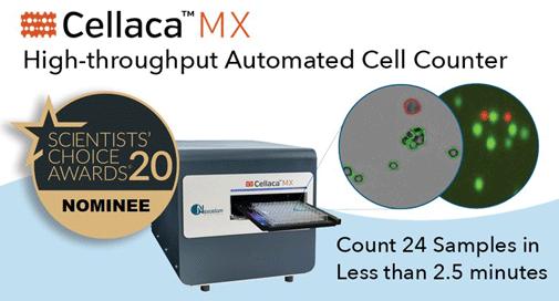 Compteur de cellules en haut-débit avec le Cellaca™ MX