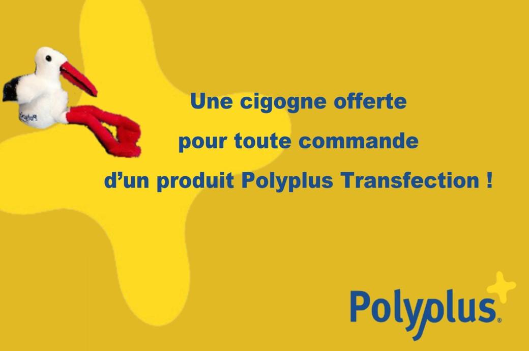 Offre spéciale sur les transfectants Polyplus