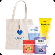 Orionin tuotepaketti