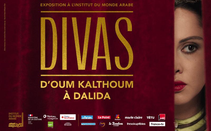 Exposition Divas - D'Oum Kalthoum à Dalida
