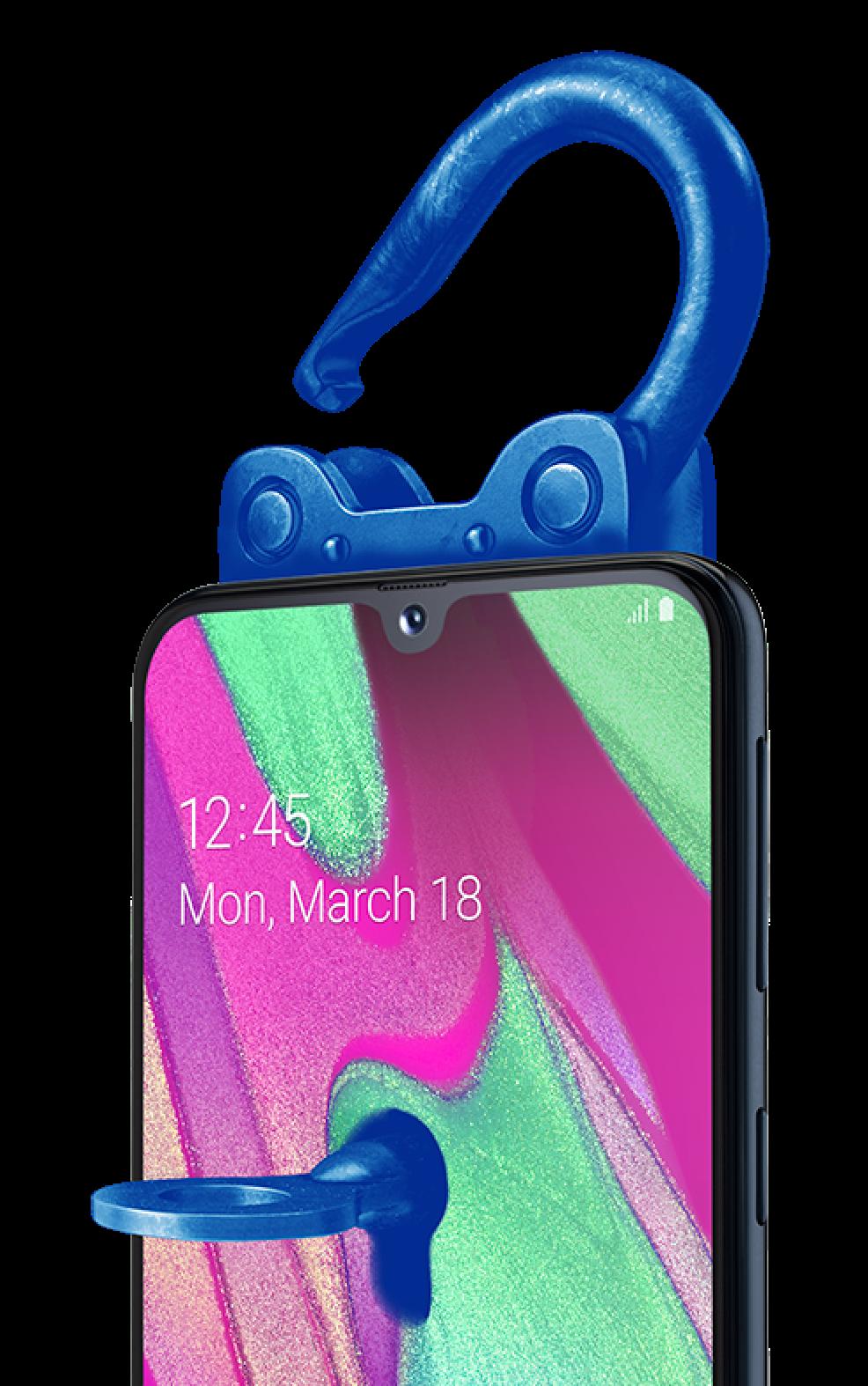 Phone image lock