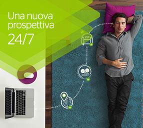 Una nuova visione dei servizi offerti 24 ore al giorno, 7 giorni su 7.