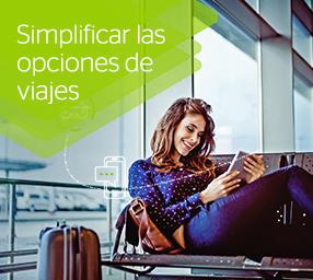 Simplificar las opciones de viajes.