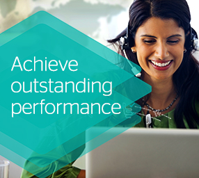Achieve outstanding performance.