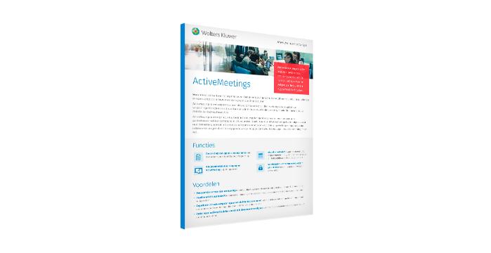 Ontdek hoe ActiveMeetings