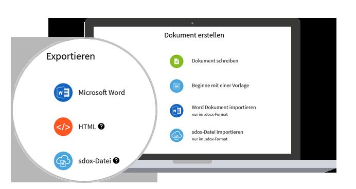 In TeamDocs können bestehende Word-Dokumente gemeinsam bearbeitet werden